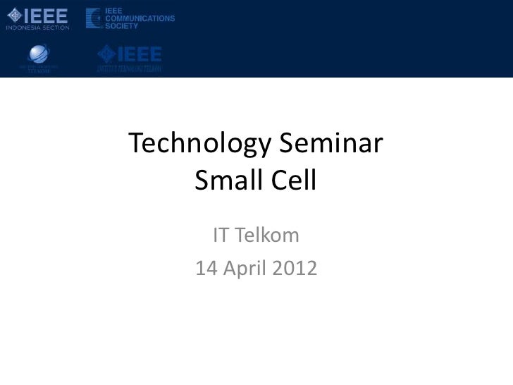 Small Cell @ IT Telkom