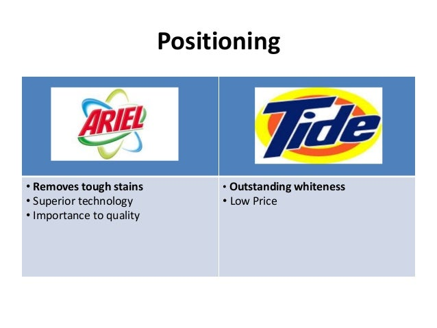 swot analysis tide detergent The first results of consumers using fixed, proper doses of tide pods laundry  detergent are in overall, category sales fell 21% in the 12.