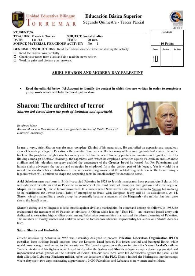Ariel Sharon (news editorial)