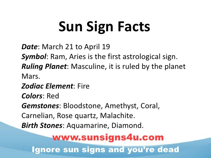 Sun sign dates in Australia