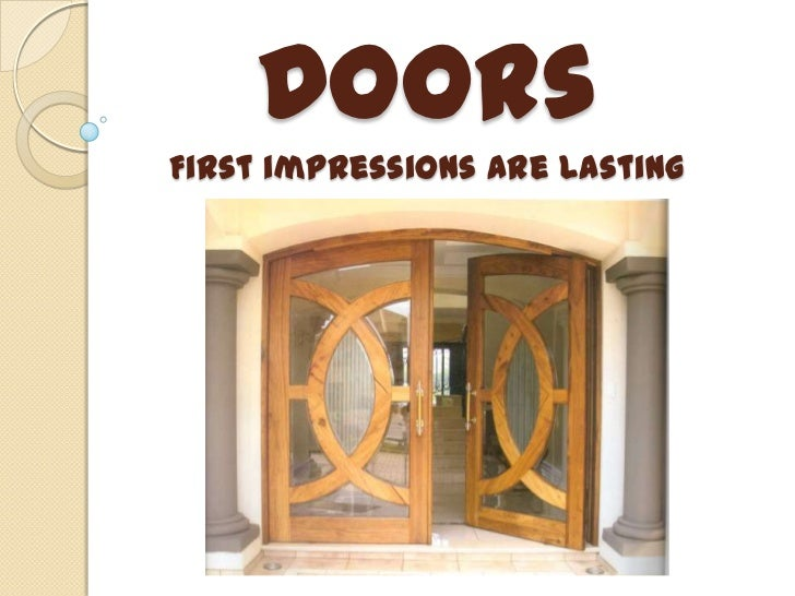 Arieta DoorsFirst impressions are lasting<br />