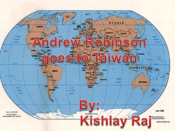 Andrew robinson goes to taiwan by kishlay raj