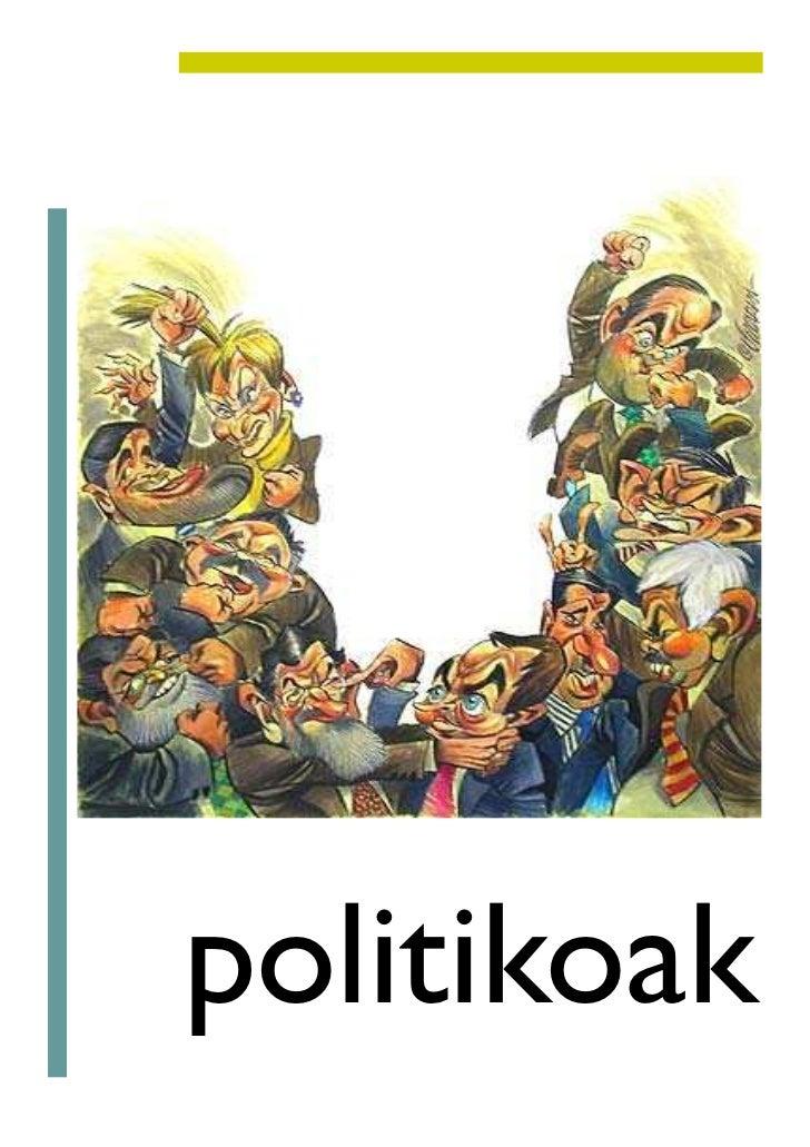 politikoak