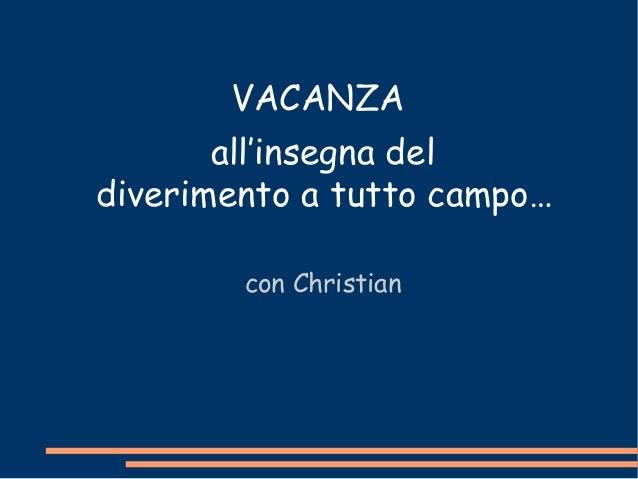 A Rimini con Christian