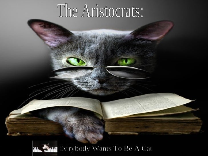 The Aristocrats: Ev'rybody Wants To Be A Cat