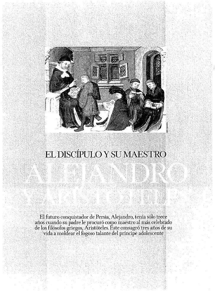 Aristoteles Y Alejandro