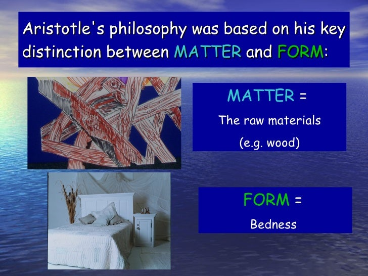 soul and aristotle When aristotle says that soul is the first act of a natural body that is potentially  alive, he doesn't mean that the natural body exists prior to having.