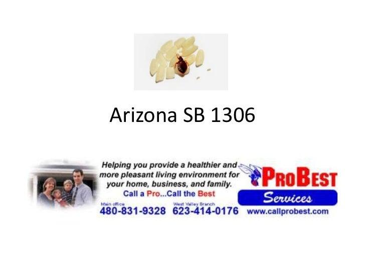 Arizona sb 1306