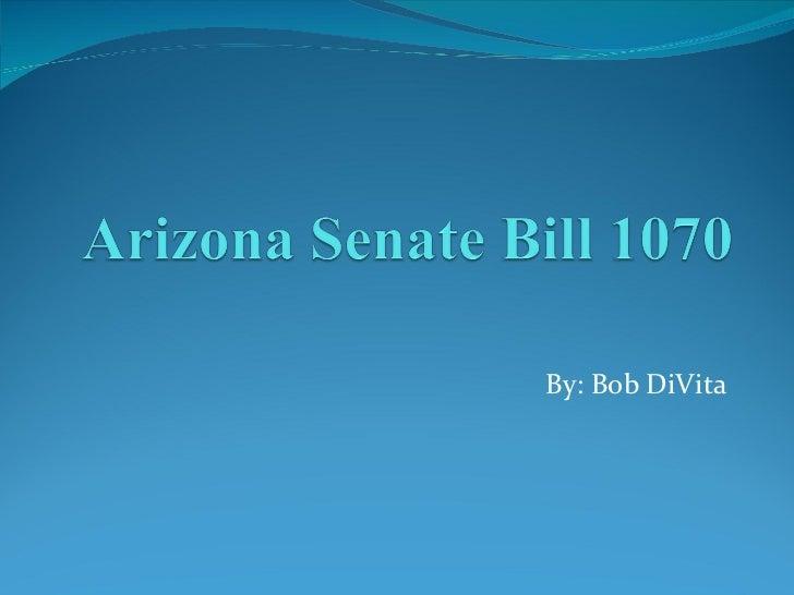 Arizona senate bill