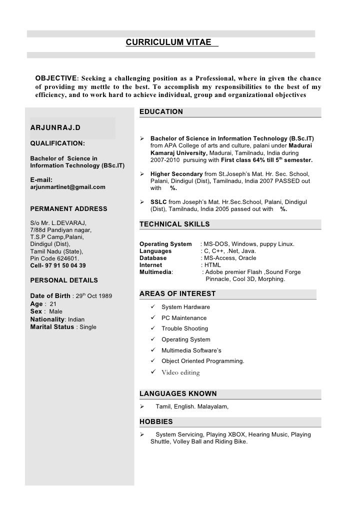 CURRICULUM VITAE     OBJECTIVE: Seeking a challenging position as a Professional, where in given the chance  of providing ...