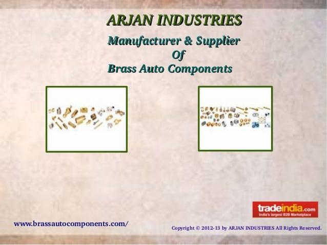 Arjan Industries