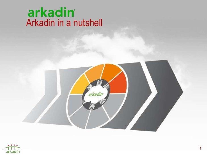 Arkadin Unified Communications May2012