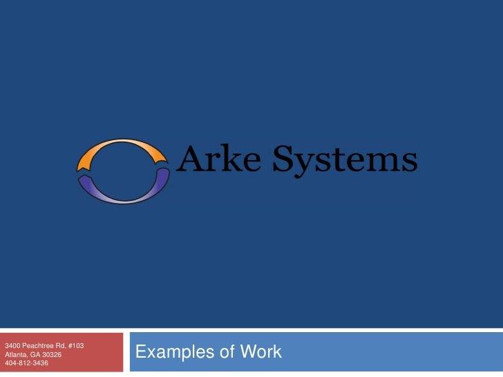 Arke Systems Agency Portfolio