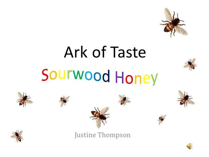 Ark Of Taste Powerpoint