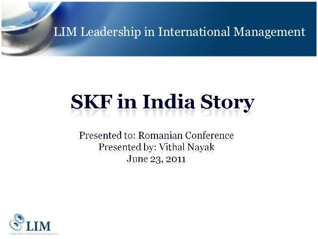 LIM Leadership in International Management