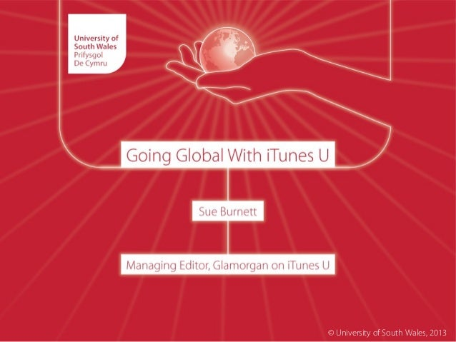 Sue Burnett: Going Global with iTunes U
