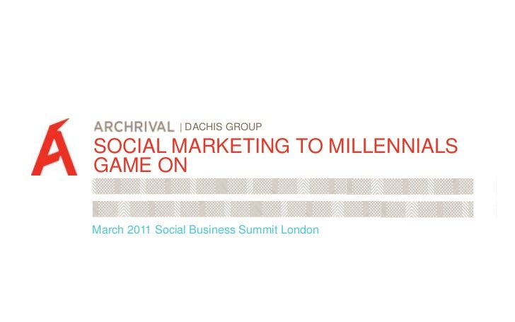 | DACHIS GROUP<br />SOCIAL MARKETING TO MILLENNIALS<br />GAME ON<br />SO MUCH RED BULL.<br />March 2011 Social Business Su...