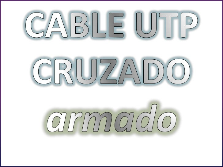 PARES TRENZADOS DELCABLE UTP