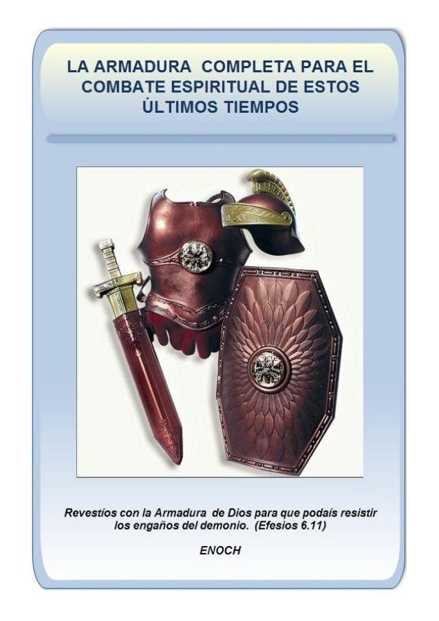 ARMADURA ESPIRITUAL COMPLETA (Click en la Imagen)