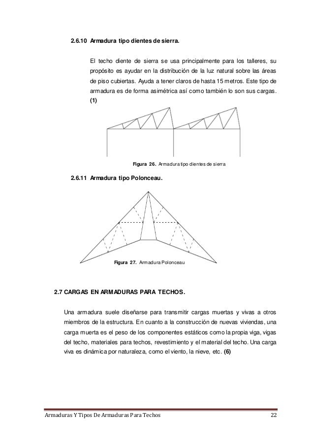 Armaduras y tipos de armaduras para techos - Tipos de tejados para casas ...
