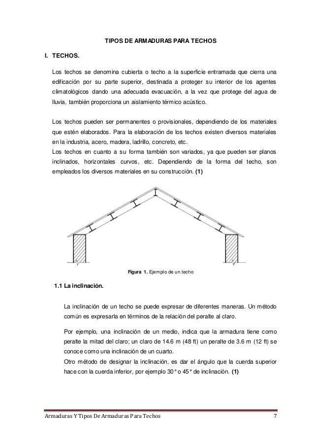 Armaduras y tipos de armaduras para techos - Cual es el mejor techo para una casa ...