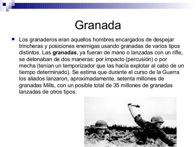 Armamento primera guerra mundial - M a interiorismo cb granada ...
