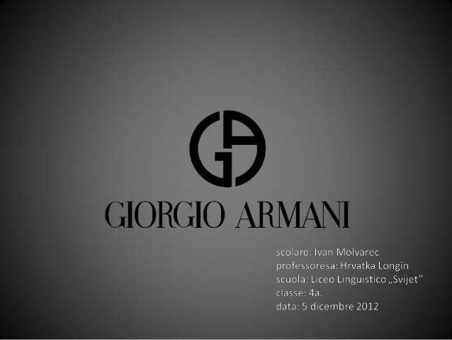 Introduzione• leader italiano nel mondo nel campo della moda• il gruppo disegna, produce e distribuisce prodotti di  moda,...