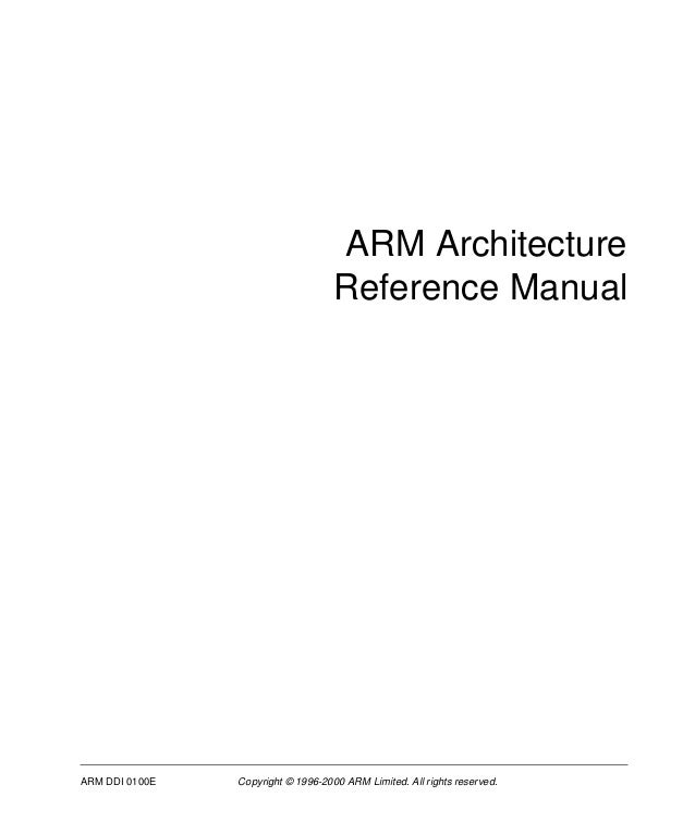 arm architecture reference manual 2 ed. Black Bedroom Furniture Sets. Home Design Ideas