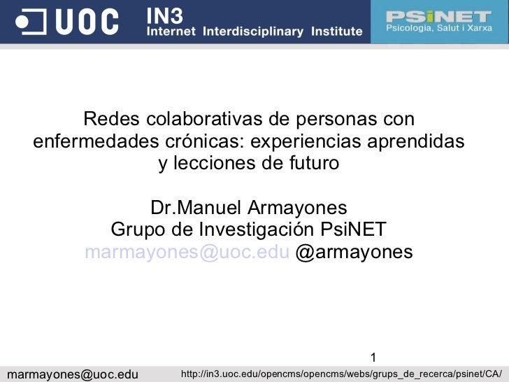 Armayones congreso cronicos_2011
