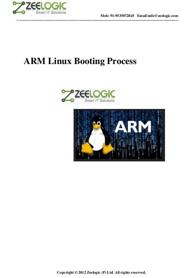 Armboot process zeelogic