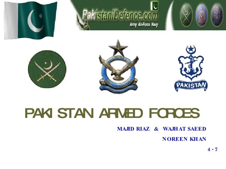 PAKISTAN ARMED FORCES   MAJID RIAZ  &  WAJHAT SAEED NOREEN KHAN 4 - 7