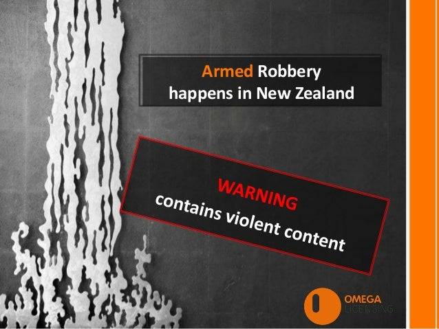 Armed Robbery happens in New Zealand