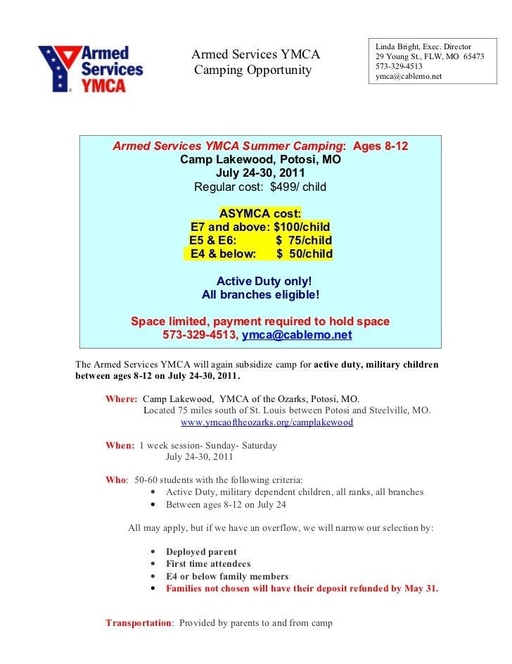 ASYMCA Summer Camp