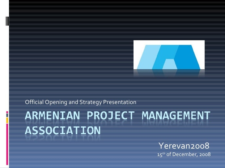 Armenian Project Management Association
