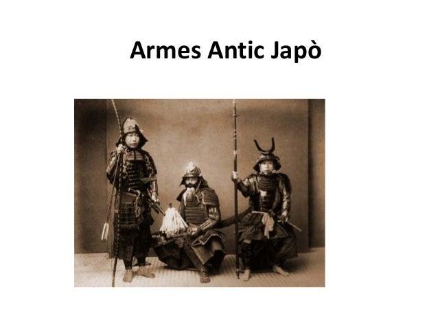 Armes Antic Japò