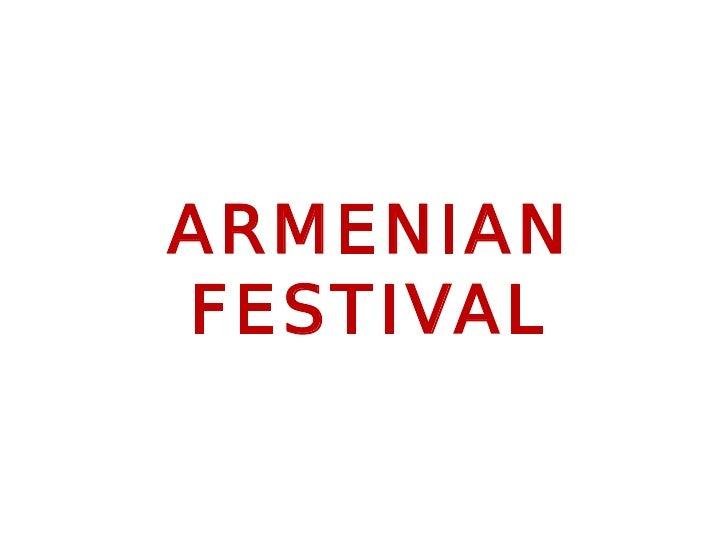 Annual Armenian Festival in Alexandria, VA