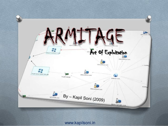 Armitage : Art of Exploitation