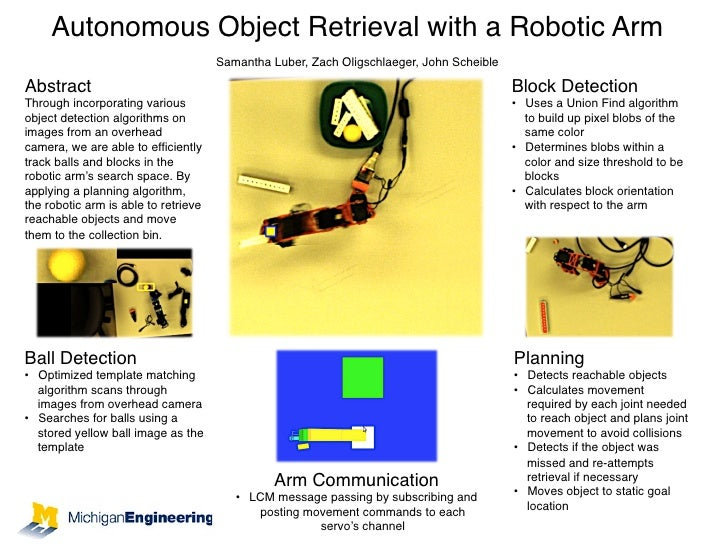 Autonomous Object Retrieval with a Robotic Arm!                                                              !            ...
