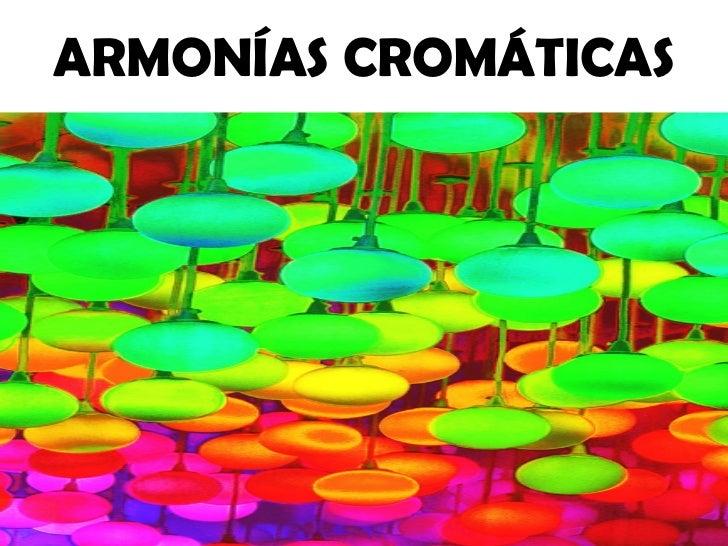 Armonías cromáticas