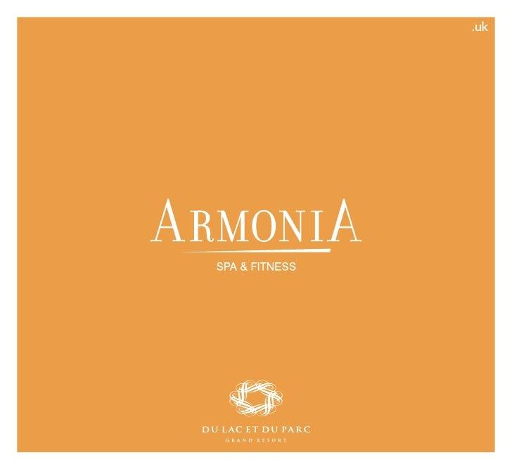 Brochure ArmoniA - Du Lac et Du Parc Grand Resort Riva del Garda
