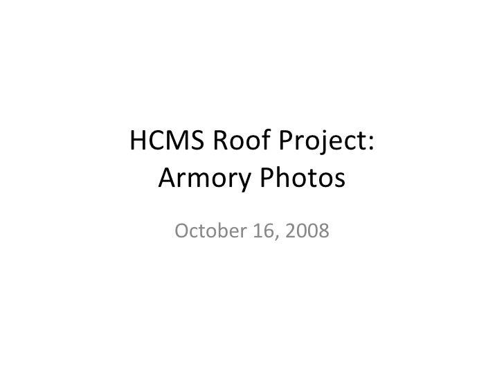 Armory Photos