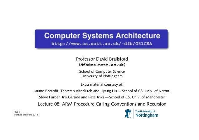 Professor David Brailsford                                                 (dfb@cs.nott.ac.uk)                            ...