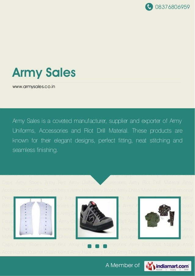 Army Sales