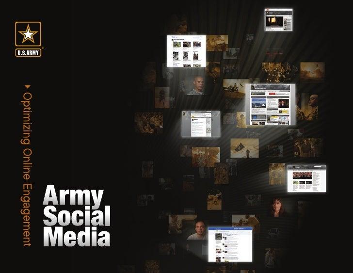 army social media