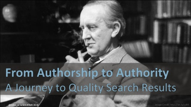 From Authorship to Authority: A journey to quality search results