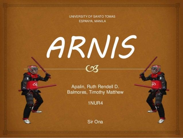 Single arnis
