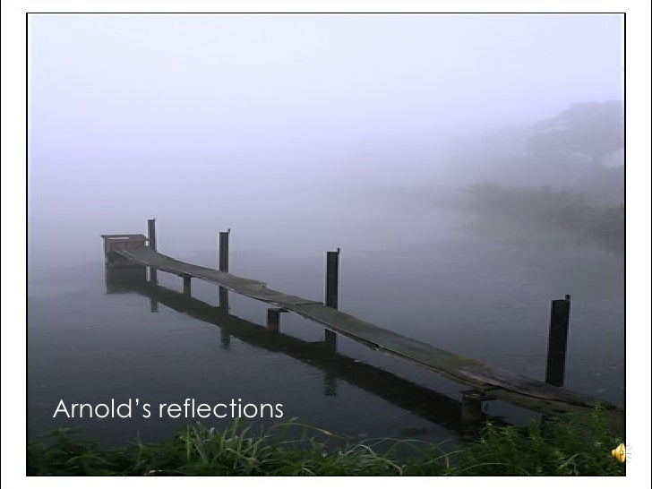 Arnold's reflections