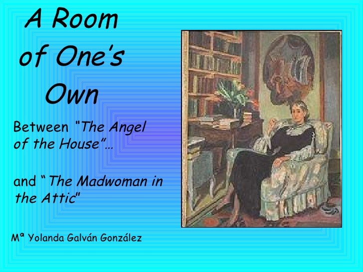 A Room Of One S Own The Angel Of The House