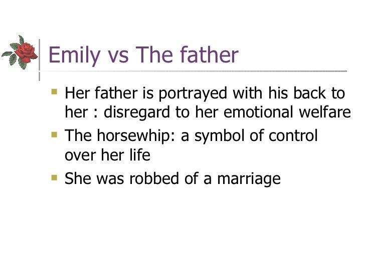 good thesis statement rose emily Im doing a character analysis on the short story a rose for emily my character is emily grierson of course help please.
