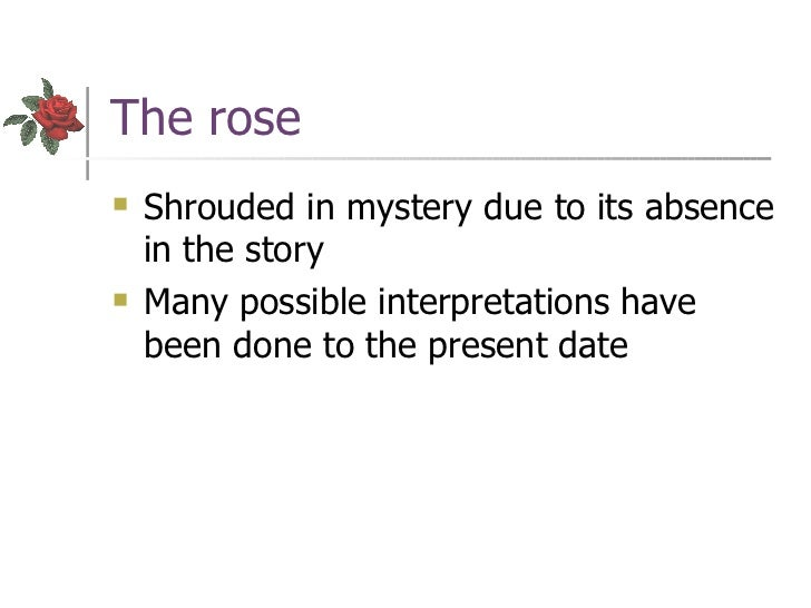 Literary analysis thesis statement for a rose for emily